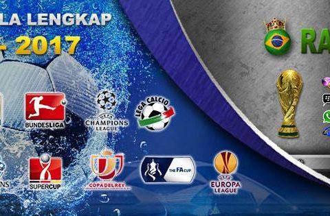 Jadwal Bola – Siaran Langsung Pertandingan Sepak Bola Live dan Bursa Taruhan Bola Online.